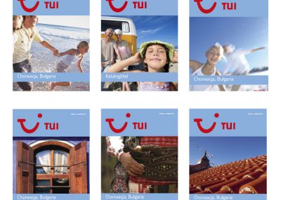 Catalogue Cover for TUI