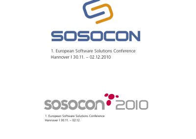 Logo Design for Sosocon (Deutsche Messe)