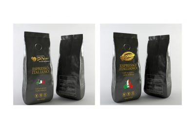Coffee Packaging for Da Vinci