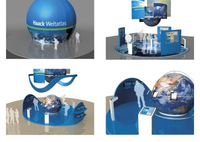 Fair Booth for Haack Weltatlas