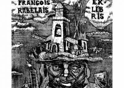 Exlibris F.Rabelais